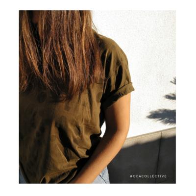 T-shirt khaki CCACollective