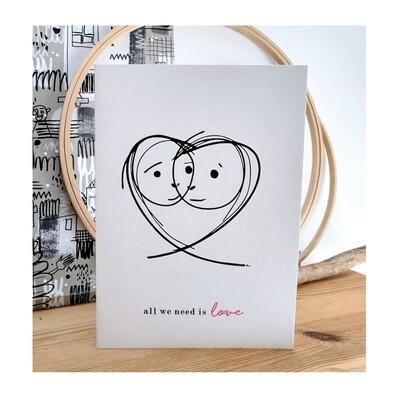 Ilustração #allweneedislove