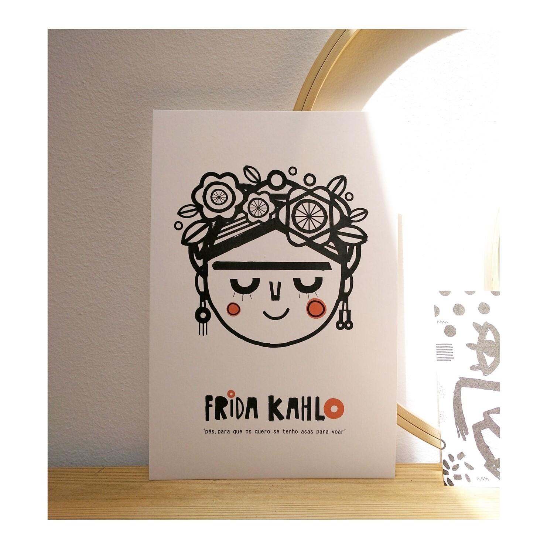 Ilustração #littlefrida