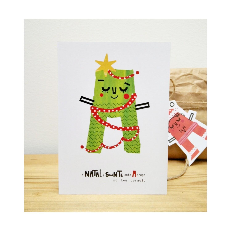 Pack 5 Artprint Abraço de Natal