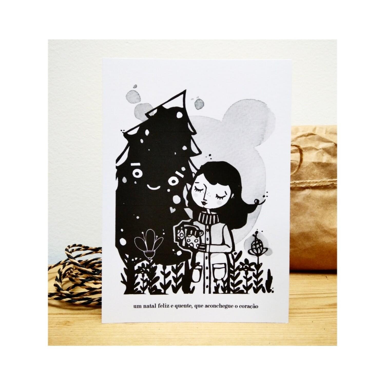Abraço de natal_Artprint (unitário ou pack)