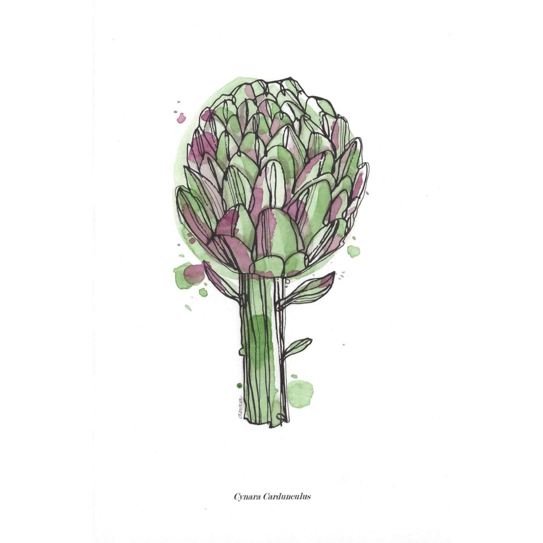 Aguarelas série _ vegetal