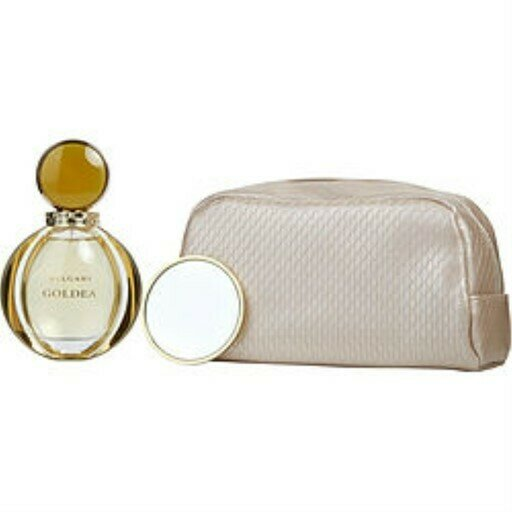 BVLGARI GOLDEA FOR WOMAN SET EDP 90 ML + MIRROR + POUCH