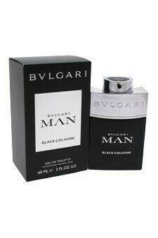 BVLGARI BLACK COLOGNE FOR MAN EDT 60 ML