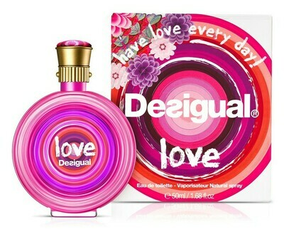 DESIGUAL LOVE EDT 50 ML