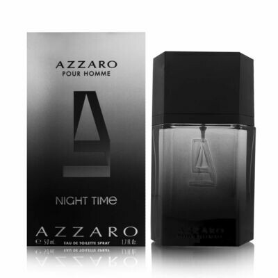 AZZARO NIGHT TIME EDT 50 ML