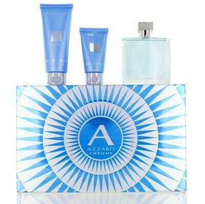 CHROME SET EDT 100 ML & H&B + ASB
