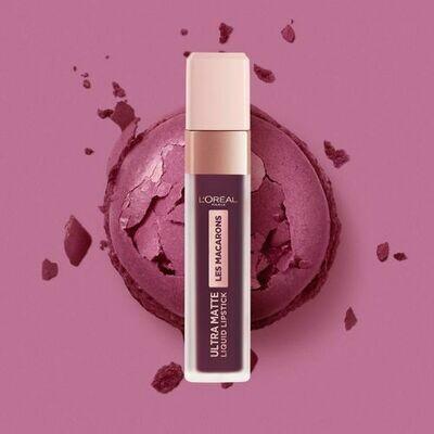 RAL INFALLIBLE MACARONS Lipstick NU  830 BLACKCURRAN
