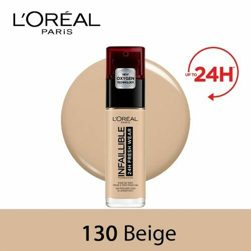 INFALLIBLE LIQUID FOUNDATION 24H 130 BEIGEPEAU/TRUEBEI
