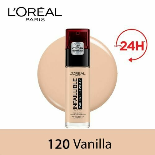 INFALLIBLE LIQUID FOUNDATION 24H 120 VANILLE/VANILLA