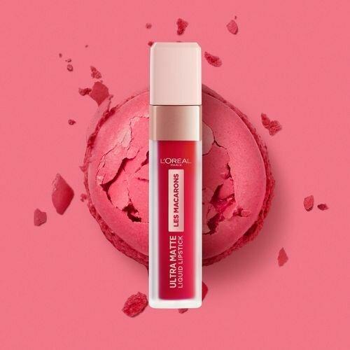 RAL INFALLIBLE MACARONS Lipstick NU  828 FRAMBOISE F