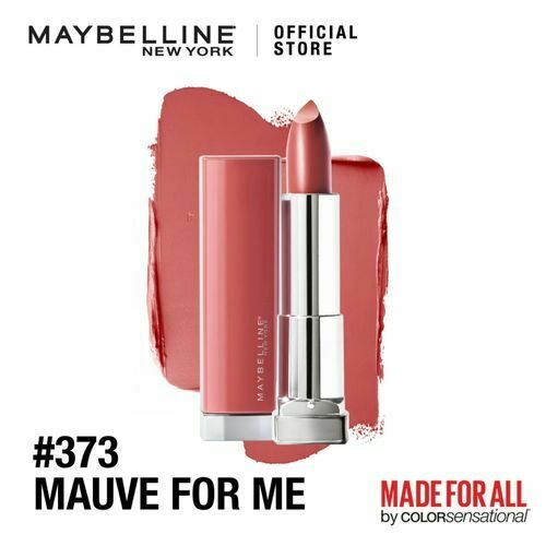 COLOR SENSATIONAL MADE FOR ALL LIPSTICK NU 373 MAUVE FOR M