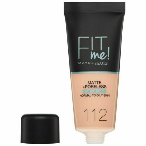 MAYBELLINE FIT ME MATTE PORELESS FOUNDATION 112