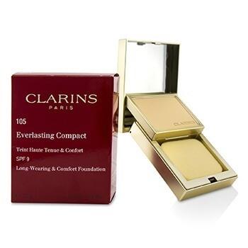 CLARINS EVERLASTING COMPACT FOUNDATION 105 SPF 9