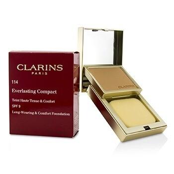 CLARINS EVERLASTING COMPACT FOUNDATION 114 SPF 9
