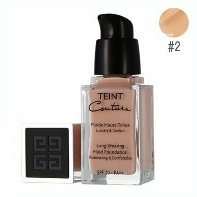 GIVENCHY MAKE UP TEINT COUTURE FLUID FOUNDATION 2 SHELL 25ML
