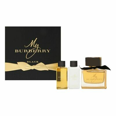 MY BURBERRY BLACK WOMAN SET EDP 90 ML+S/G+B/L
