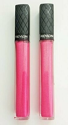REVLON BRUST LIP GLOSS NO. 10 HOT PINK