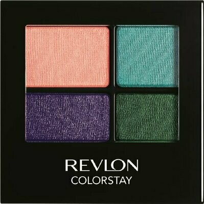 REVLON 16HOUR EYE SHADOW QUAD NO. 585 SEA MIST