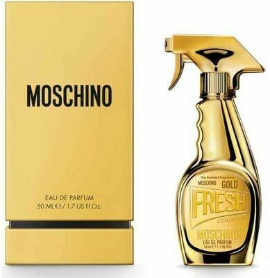MOSCHINO FRESH GOLD EDP NATURAL SPRAY 50 ML