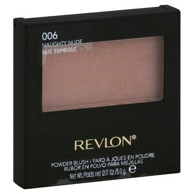 REVLON POWDER BLUSH NO. 6 NAUGHTY NUDE