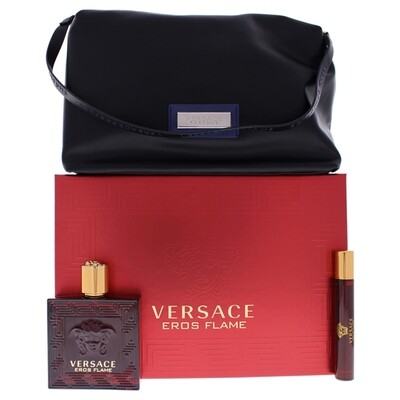 VERSACE EROS FLAME MEN EDP 100 ML + GWP + 10ML SET