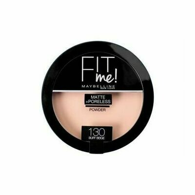 MAYBELLINE FIT ME MATTE PORELESS COMPACT POWDER 130