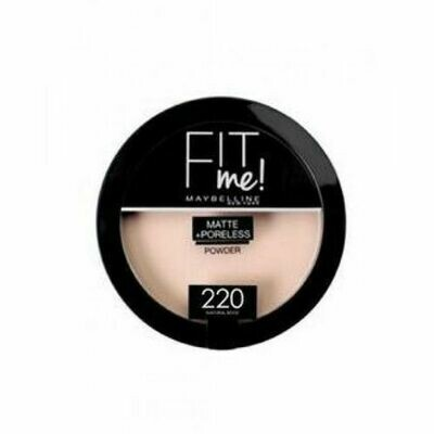 MAYBELLINE FIT ME MATTE PORELESS COMPACT POWDER 220