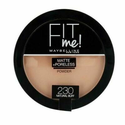 MAYBELLINE FIT ME MATTE PORELESS COMPACT POWDER 230
