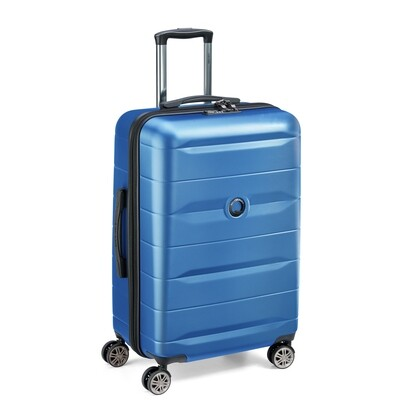 COMETE 77 cm 4 Double Wheels Trolley light blue