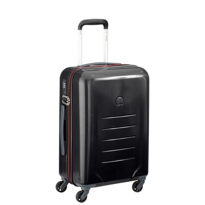 TOLIARA 55 cm 4Wheel Expandable Cabin Trolley black