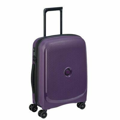 BELMONT PLUS 61 cm 4 Double Wheels Expandable US Cabin Trolley ZST purple