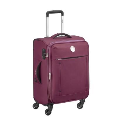 BANJUL 55 cm 4Wheel Cabin Trolley purple