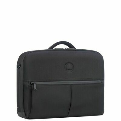 LAUMIERE 2Cpt Satchel  PC 15.6'' black