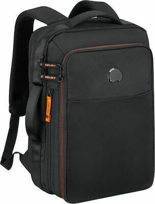 DAILY'S 2Cpt Backpack  PC 15.6'' black/orange