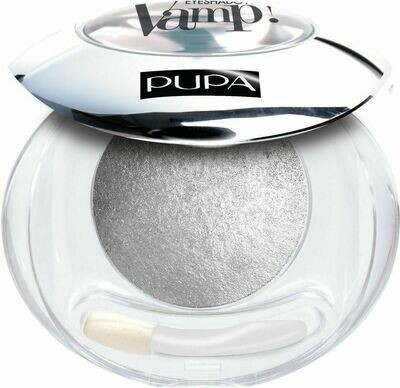 PUPA VAMP! WET & DRY EYESHADOW - BAKED NO. 404 LUXURIOUS SIL