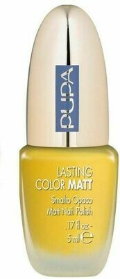 PUPA MATT EFFECT NAIL POLISH NO 01YELLOW