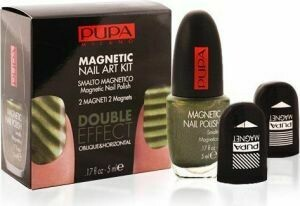PUPA MAGNETIC NAIL ART KIT KHAKI