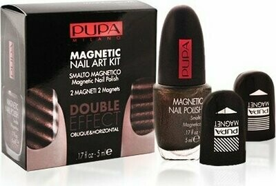 PUPA MAGNETIC NAIL ART KIT BROWN