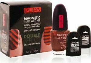 PUPA MAGNETIC NAIL ART KIT ORANGE