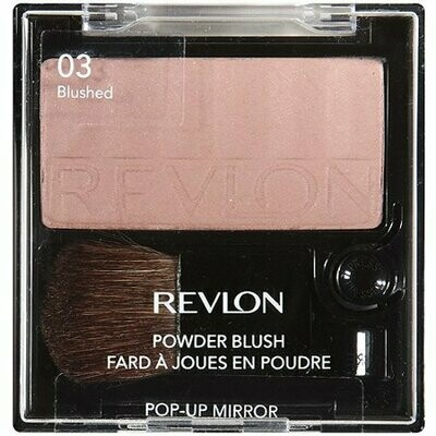 REVLON BLUSH WITH POP UP MIRROR COLOR 3 BLUSHED