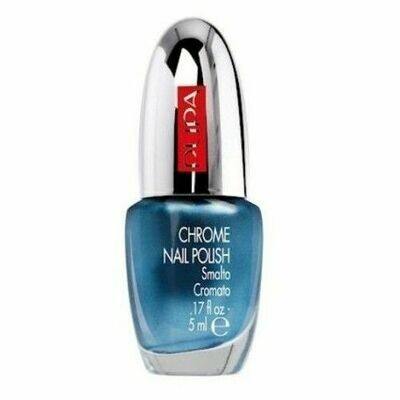 PUPA CHROME NAIL POLISH NO. 18 SKY-BLU