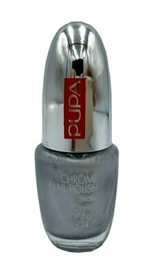 PUPA CHROME NAIL POLISH NO. 15 SILVER