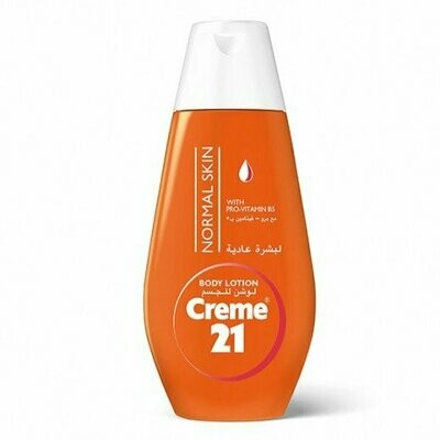 CRÉME 21 BODY LOTION FOR NORMAL SKIN WITH PRO VITAMIN B5- 400 ML