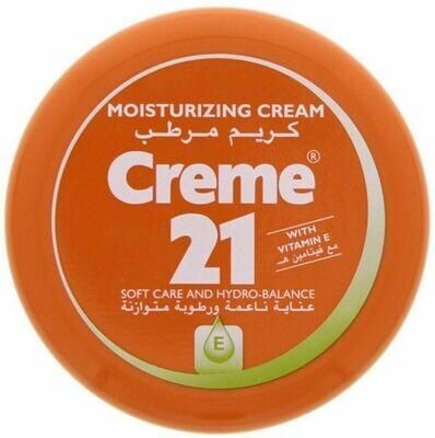 CRÉME 21 MOISTURIZING CREAM WITH VITAMIN E SOFT 250 ML