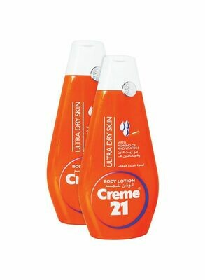 CRÉME 21 BODY LOTION FOR ULTRA DRY SKIN WITH PRO VITAMIN B5- 400 ML