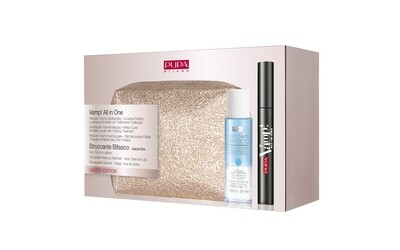 PUPA KIT MASCARA VAMP ALL IN ONE+MINIBIFAS NO. 001