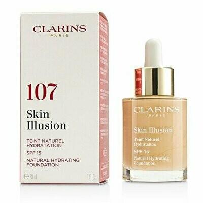 CLARINS SKIN ILLUSION FOUNDATION SPF10 30ML NO. 107