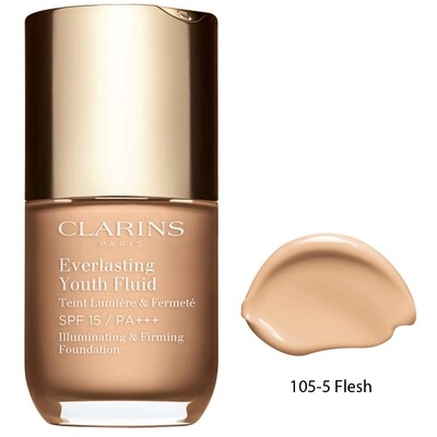 CLARINS EVERLASTING YOUTH FLUID FOUNDATION 30ML NO. 105.5