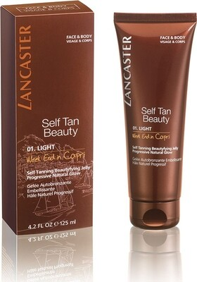 LANCASTER NEW SUN CARE SELFTAN SELF TAN FACE & BODY CREAM 12